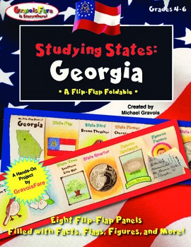 Studying States: Georgia—A Flip-Flap Foldable Filled with