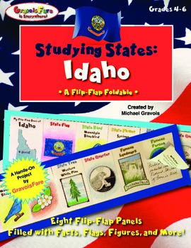 Studying States: Idaho—A Flip-Flap Foldable Filled with Fa