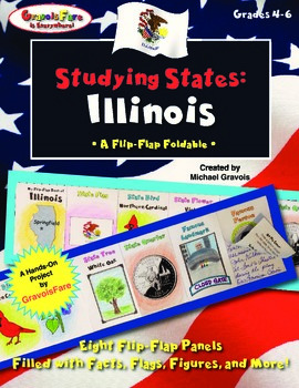 Studying States: Illinois—A Flip-Flap Foldable Filled with
