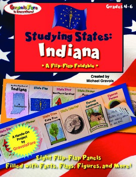 Studying States: Indiana—A Flip-Flap Foldable Filled with
