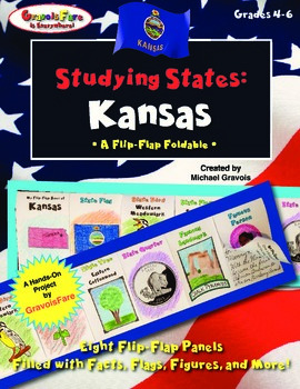 Studying States: Kansas—A Flip-Flap Foldable Filled with F