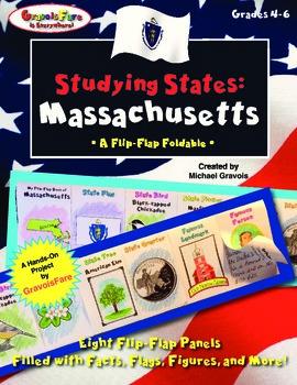 Studying States: Massachusetts—A Flip-Flap Foldable Filled
