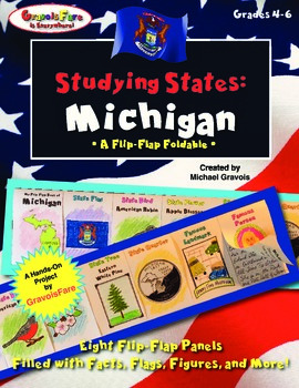 Studying States: Michigan—A Flip-Flap Foldable Filled with