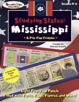 Studying States: Mississippi—A Flip-Flap Foldable Filled w