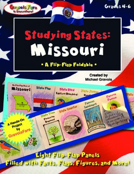 Studying States: Missouri—A Flip-Flap Foldable Filled with