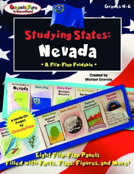 Studying States: Nevada—A Flip-Flap Foldable Filled with F