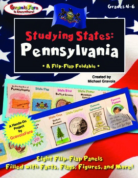 Studying States: Pennsylvania—A Flip-Flap Foldable Filled