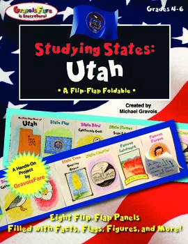 Studying States: Utah—A Flip-Flap Foldable Filled with Fac
