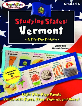 Studying States: Vermont—A Flip-Flap Foldable Filled with