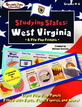 Studying States: West Virginia—A Flip-Flap Foldable Filled