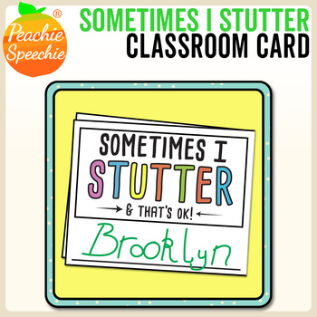 Stuttering Cards for Kids
