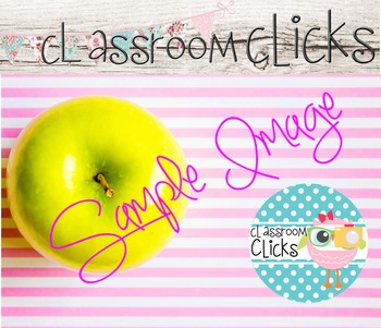Styled Apple Pink Stripes Image_164:Hi Res Images for Blog