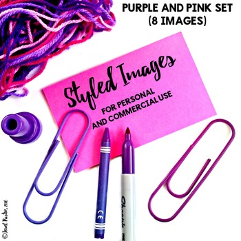 Styled Images for Personal and Commercial Use (Purple and