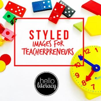 Styled Images for Teacherpreneurs: Math Class Set (Persona