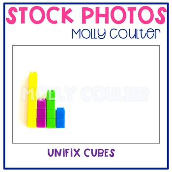 Stock Photo Styled Image: Unifix Cubes #1-Personal & Comme