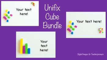 BUNDLE Stock Photo: Math Unifix Cubes-Personal & Commercial Use
