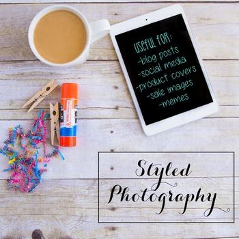 Styled Photography: Arts & Crafts 3 BUNDLE (Comm Use OK)