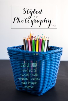 Styled Photography: Arts and Crafts Set 10 (Comm Use OK)