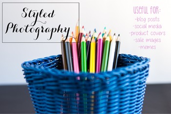 Styled Photography: Arts and Crafts Set 11 (Comm Use OK)