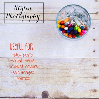 Styled Photography: Arts and Crafts Set 12 (Comm Use OK)