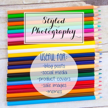 Styled Photography: Arts and Crafts Set 18 (Comm Use OK)