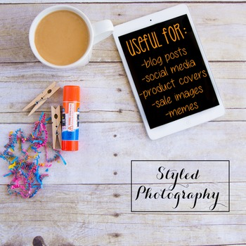 Styled Photography: Arts and Crafts Set 21 (Comm Use OK)
