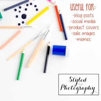 Styled Photography: Arts and Crafts Set 6 (Comm Use OK)