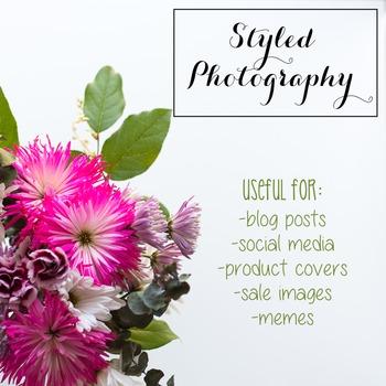 Styled Photography: Flowers BUNDLE (Comm Use OK)