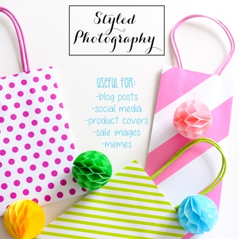 Styled Photography: Party BUNDLE (Comm Use OK)