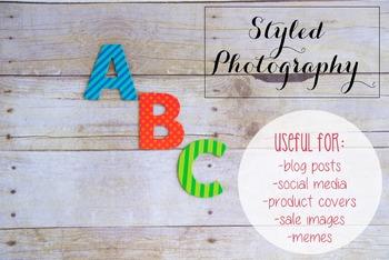 Styled Photography: Phonics set 12 (Comm Use OK)