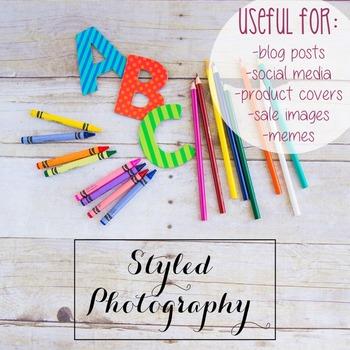 Styled Photography: Phonics set 15 (Comm Use OK)