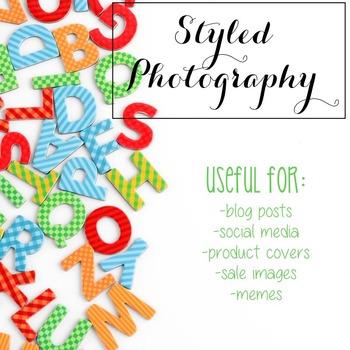Styled Photography: Phonics set 2 (Comm Use OK)
