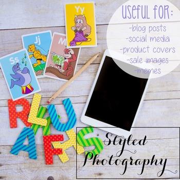 Styled Photography: Phonics set 20 (Comm Use OK)