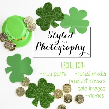 Styled Photography: St. Patrick's Day (Comm Use OK)