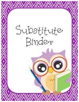 Sub Binder - Owl