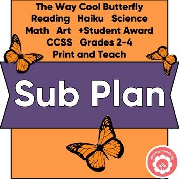 Sub Plan Butterfly Study Grades 2 - 4