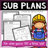 Sub Plans!