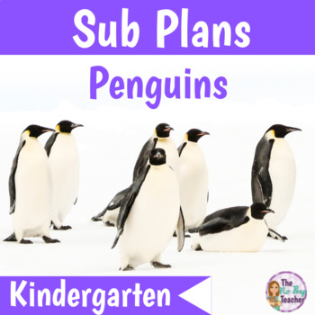 Kindergarten Sub Plans Penguins