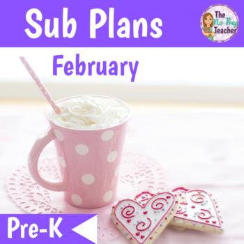 PreK Sub Plans for February