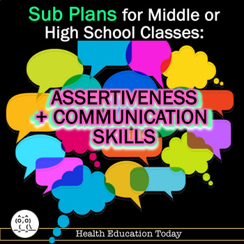 Sub Plans For Any Middle or High School Class - Communicat