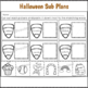 2nd Grade Sub Plans Halloween