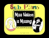 Sub Plans - Miss Nelson is Missing