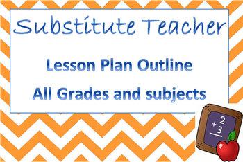 Sub Plans Outline