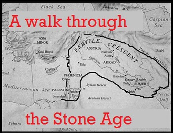 Sub Plans A Walk through the Stone Age Close Read