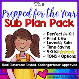 """Sub Plans! The ULTIMATE """"Prepared for the YEAR Pack!"""""""
