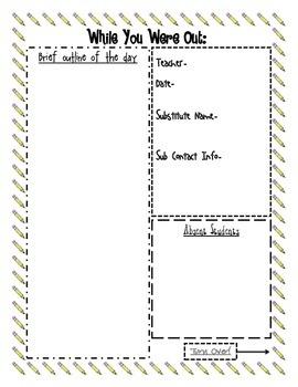 Sub Report Form