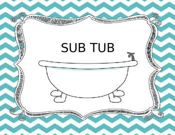 Sub Tub {Chevron Theme}