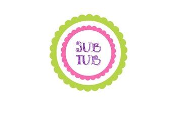 Sub Tub Label