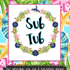 Sub Tub & Substitute Binder Resources!