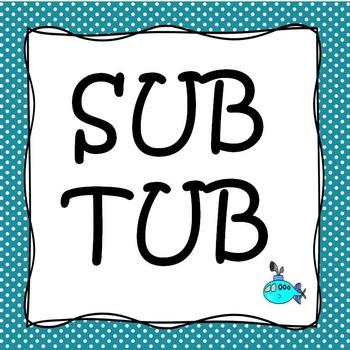 Sub Tub for substitute teachers